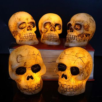 Flameless Skull LED Candles