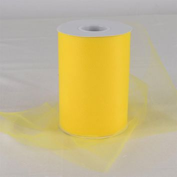 Yellow Tulle Roll
