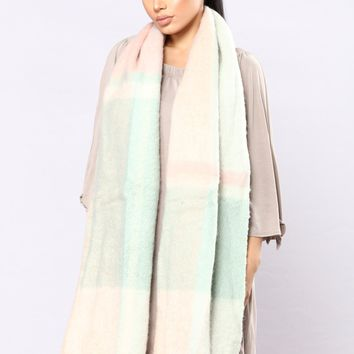 Mind Over Matter Scarf - Pink
