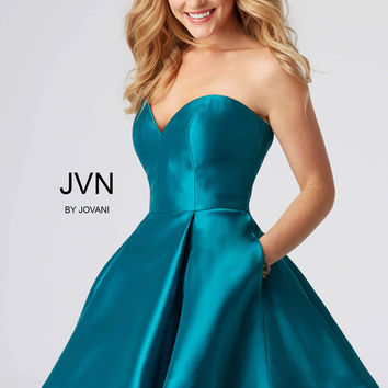 Jovani JVN54881 Strapless Sweetheart Dress