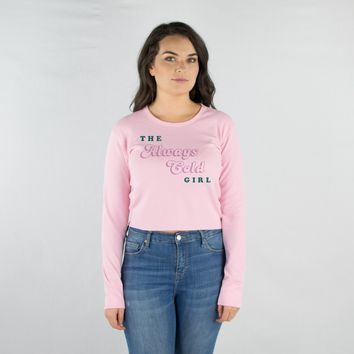 The Always Cold Girl Cropped Thermal