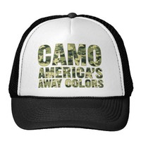 Camo America's Away Colors Hat from Zazzle.com