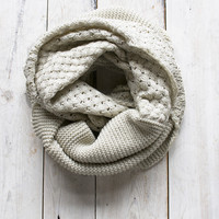 Double Knit Infinity Scarf
