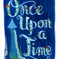 Once Upon A Time Art Print 8.5x11""