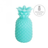 Sunnylife Small Pineapple Candle - Turquoise