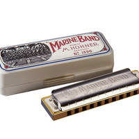 Hohner Marine Band Diatonic Harmonicas for sale
