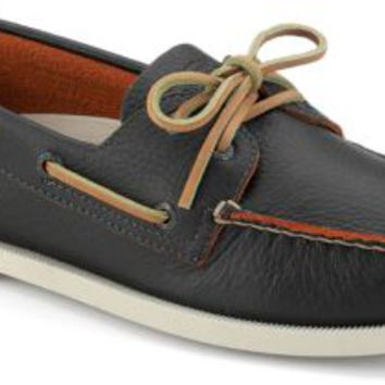 Sperry Top-Sider Authentic Original Two-Tone 2-Eye Boat Shoe BrownLeather, Size 11M  Men's Shoes