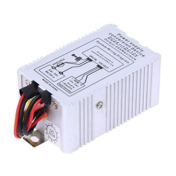 DCCKHD9 24V to 12V DC-DC Car Power Supply Inverter Converter Conversion Device 30A ME3L