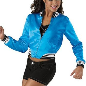 Satin Baseball Jacket - Urban Groove
