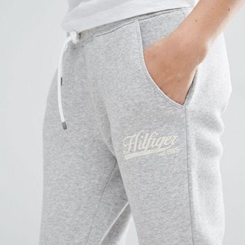 One-nice™ Tommy Hilfiger Women Casual Sports Pants Trousers Sweatpants