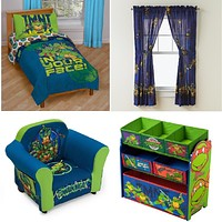 Disney, Nickelodeon or Marvel Kids,Toddler Bedroom Furniture 4 Piece Bedding Set