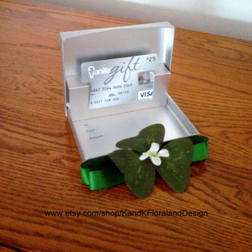 Irish Themed Gift Card Box-Decorated Gift Box-Birthday Gifts-Wedding Gifts-Corporate Gifts-More