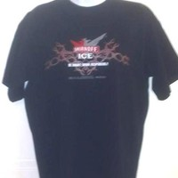 NASCAR Matt Kenseth #17 TeamCaliber Smirnoff Ice Triple Black Med T-Shirt NWOT