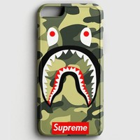Shark Camo Bathing Bape Supreme iPhone 7 Case