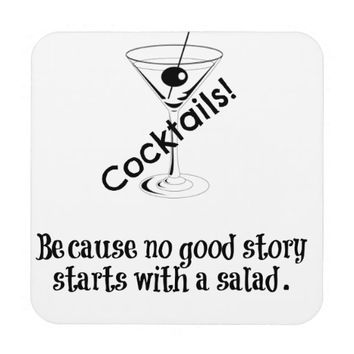 Cocktail Story Drink Coaster
