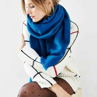 Avant Garde Brushed Woven Scarf