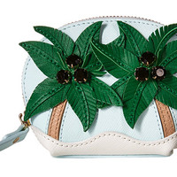 Kate Spade New York Breath of Fresh Air Palm Tree Coin Purse