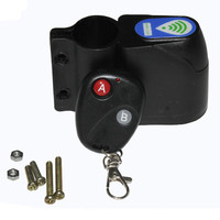 Professional Anti-theft Bike Lock Cycling Security Lock Remote Control Vibration Alarm Bicycle Riding Warning Accessories