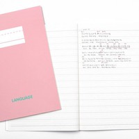 Language Learning Notebook Set