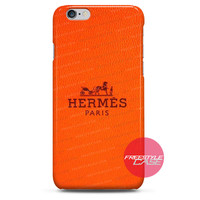 Hermes Paris Orange  iPhone Case 3, 4, 5, 6 Cover