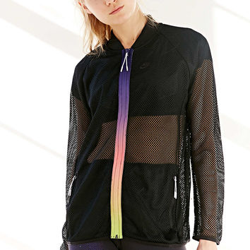 Nike R U Mesh Bomber Windrunner Jacket - Urban Outfitters