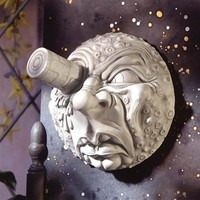 SheilaShrubs.com: Trip to the Moon Wall Sculpture EU1094 by Design Toscano: Wall Sculptures