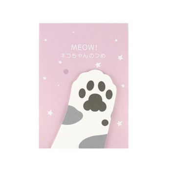 Cat Paw Sticky Note Bookmarks / Tape Flags