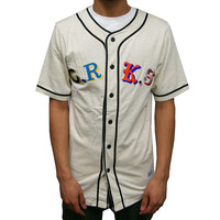 Maison Baseball Jersey Heather Oatmeal