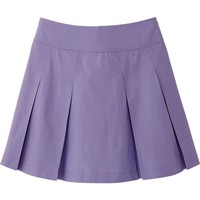 WOMEN COTTON MINI SKIRT | UNIQLO