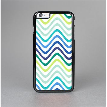The Vibrant Fun Colored Pattern Swirls Skin-Sert for the Apple iPhone 6 Plus Skin-Sert Case