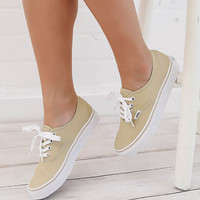 Authentic Sneaker - Pale Khaki/True White