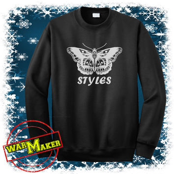 harry styles tattoo sweatshirt one direction shirt harry styles sweater WMFLY-4S