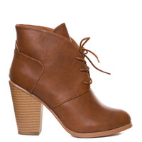 Raelynn Booties - Tan