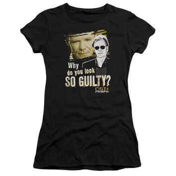 Csi Miami - So Guilty Short Sleeve Junior Sheer