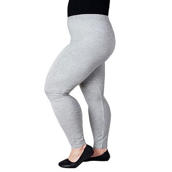 Women Legging Plus Size Thin Sexy Black Cotton Modal Leggings for Workout High Waist Ankle Length Candy Color S-XXXL