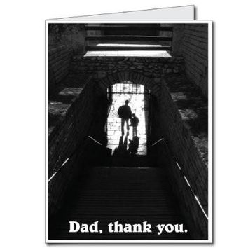 3'x4' Giant Dad, Thank You Father's Day Card with Envelope and Free