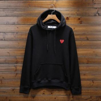 PLAY Fashion Long-Sleeved Hooded Sweater