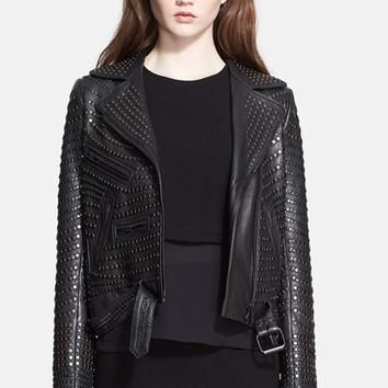 Women's A.L.C. 'Blake' Studded Leather Jacket