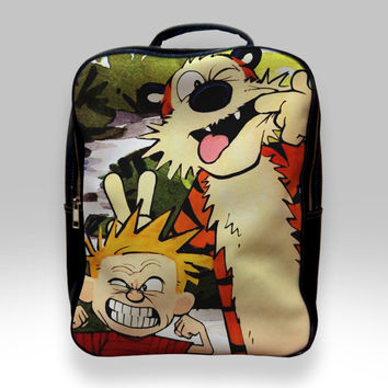 Backpack for Student - Calvin and Hobbes Bags