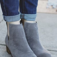 Hometown Booties - Grey