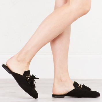 JEFFREY CAMPBELL APFEL SUEDE MULE - What's New