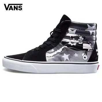 975f7fd007 Vans x Mickey Mouse Old Skool Woman Men Fashion Sneakers Sport Shoes