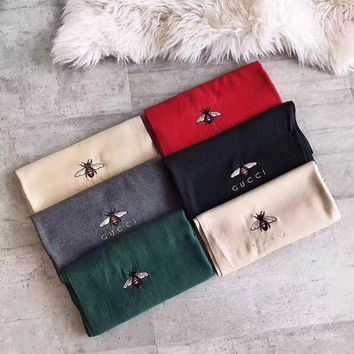 ONETOW GUCCI Women Smooth Cashmere Warm Winter Cape Scarf Scarves