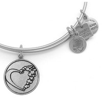 Alex and Ani Whole Heart American Heart Association Bangle Russian Silver
