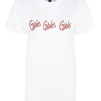 Girls Girls Girls T-Shirt by And Finally