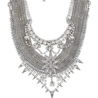 XEVANA x REVOLVE 3 Necklace in Metallic Silver