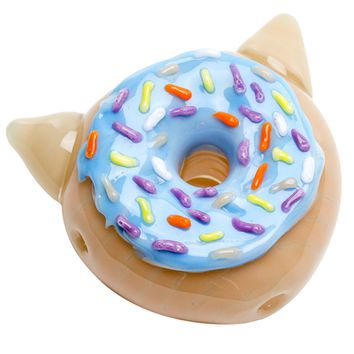 Blueberry Kitty Donut Pipe PREORDER