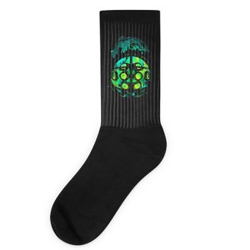 face of the protector Socks