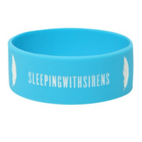 Sleeping With Sirens Deserve Much More Rubber Bracelet