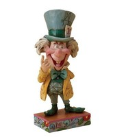 Disney Traditions designed by Jim Shore for Enesco Mad Hatter Figurine 5.25 IN
